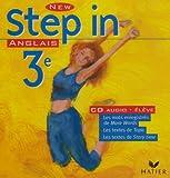 echange, troc Collectif - New Step In : Anglais, 3e LV1, pour l'élève (CD audio)