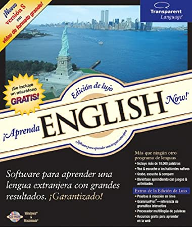 English Now! for Spanish speakers v8 Deluxe