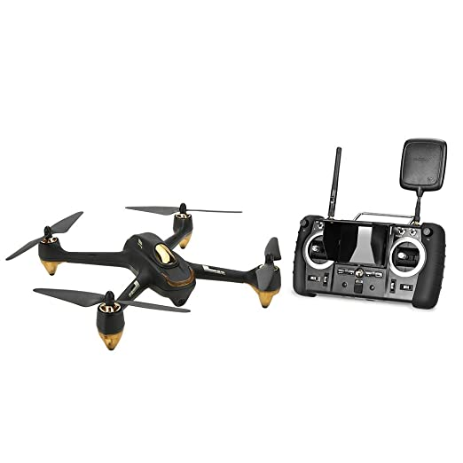 Quantcopter Drone RC Hubsan X4 H501S 5.8G FPV Brushless Version avancée (Noir)