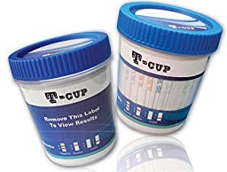 5 Panel Integrated Multi Drug Urine Test T-Cup (COC/THC/OPI/AMP/MAMP) (Multiple Quantities) (50)