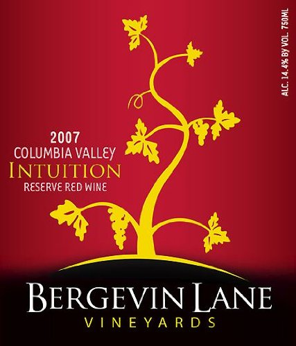 2007 Bergevin Lane Vineyards Intuition Reserve