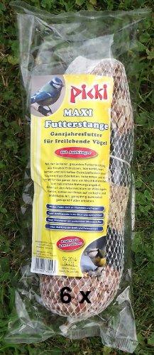 6 picki Maxi Futterstangen Vogelfutter
