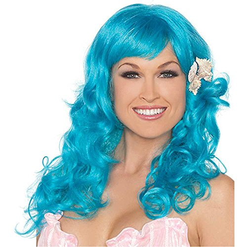 Mermaid with Seashells Wig