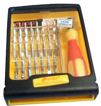 jackly jk 6032 a screwdriver 32 in 1 set lighting. Black Bedroom Furniture Sets. Home Design Ideas