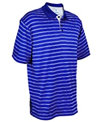 Russell Athletic Men's Dri-Power Striped Polo