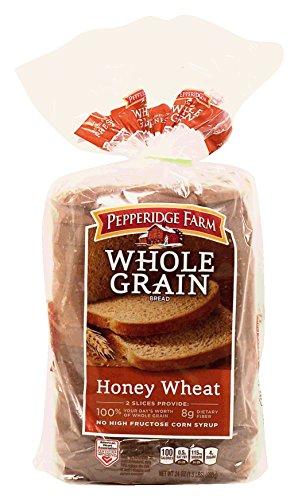 Pepperidge Farm Whole Grain Honey Wheat Bread 24 Oz (Pack of 2) (Bread Honey Wheat compare prices)