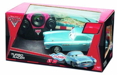 Imagen 1 de Dickie-Spielzeug 203089503 Disney Cars 2 - Coche por control remoto diseño Finn McMissile de 18 cm [Importado de Alemania]