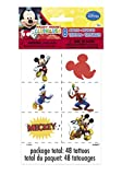 Mickey Mouse Clubhouse Party Favors - 48 Tattoos