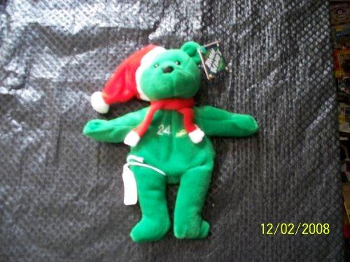 1 X Ken Griffey Jr #24 Green Christmas Salvino's Bamm Beano's Bear - 1