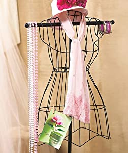 Vintage Style Wire Mannequin Dress Form Home Decor