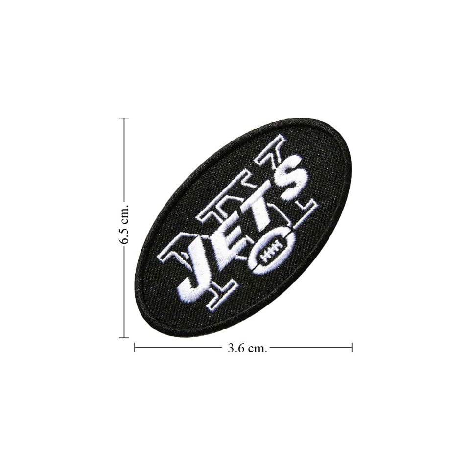 New York Jets Patch Football Logo Iron on Patch Great Gift for Dad Mom
