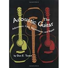 The Acoustic Guitar: Adjustment, Care, Maintenance and Repair [Import] available at Amazon for Rs.1556