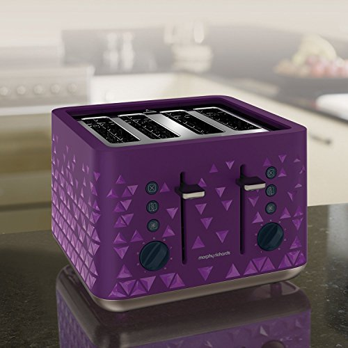 Morphy Richards 248107 Prism Toaster Purple