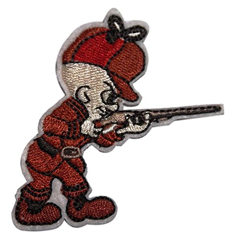 looney-tunes-elmer-fudd-3-tall-embroidered-iron-on-patch