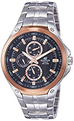 Casio Edifice Black Dial Mens Watch - EF-326D-1AVDF (ED335)