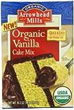 Arrowhead Mills Organic Vanilla Cake Mix, 18.2 Ounce (Pack of 6)