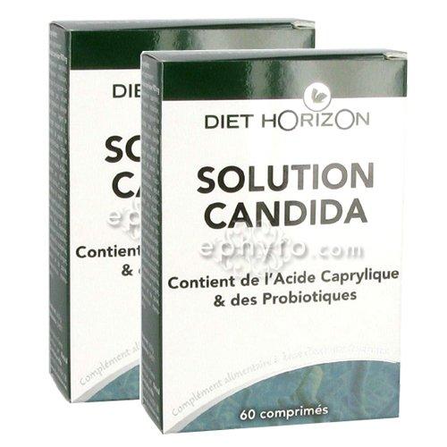 diet horizon candinac e ex solution candida 2 x 60 comprim s. Black Bedroom Furniture Sets. Home Design Ideas