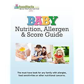 Baby Nutrition, Allergen & Score Guide 2013