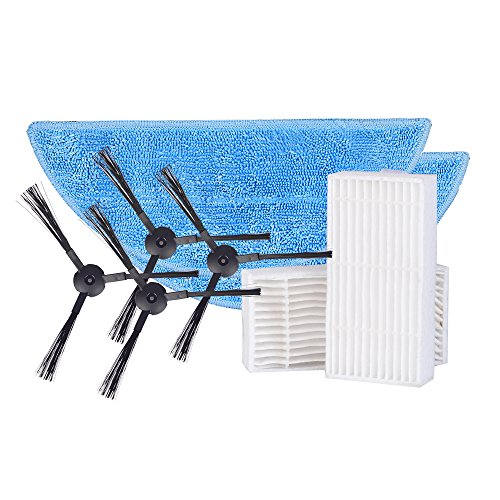 Great Features Of Consumable Accessories Parts Pack Sides Brush Mop Hepa for ILIFE V3s V5 V5s Robot ...
