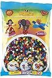 Hama 201-67 - The Original Beads, 3000 Perlen, volltonfarben von Hama