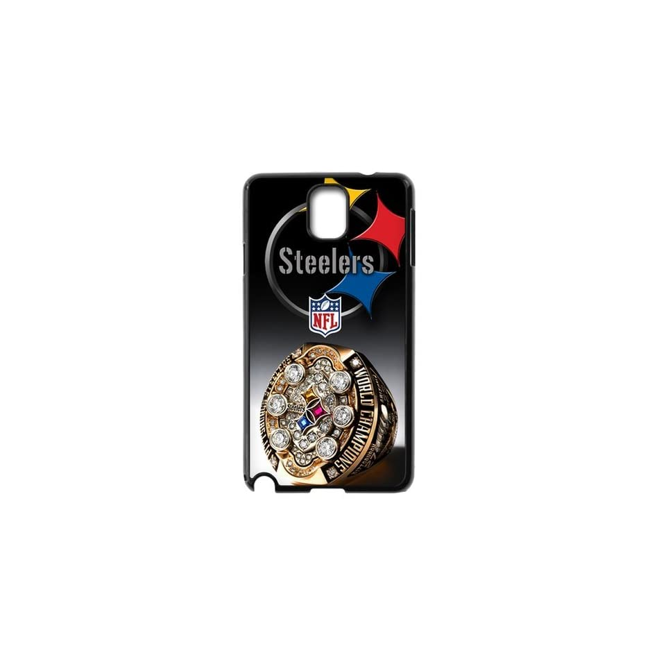 WY Supplier Popular NFL Pittsburgh Steelers Logo of Samsung Galaxy Note 3 phone case, Seal 575, Pittsburgh Steelers Samsung Galaxy Note 3 Premium Hard Plastic Case Covers Cell Phones & Accessories