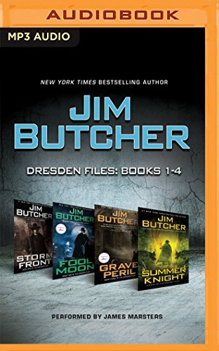 Jim Butcher - Dresden Files: Books 1-4: Storm Front, Fool Moon, Grave Peril, Summer Knight (The Dresden Files) by Jim Butcher (2016-07-26) (Jim Butcher Cd compare prices)