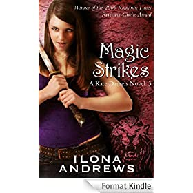 Magic Strikes: A Kate Daniels Novel: 3 (English Edition)