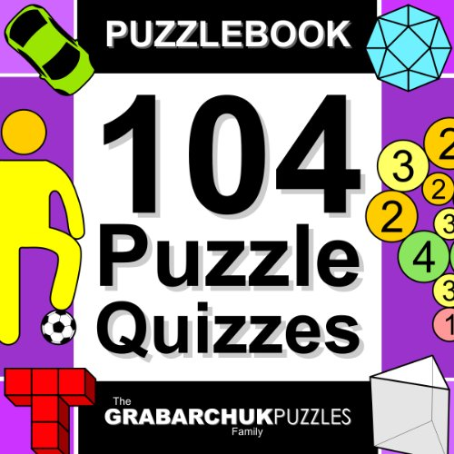 Free Kindle Book : 104 Puzzle Quizzes (Interactive Puzzlebook for E-readers)