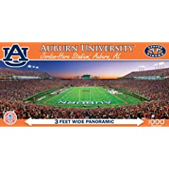 Buy MasterPieces NCAA Auburn Tigers Stadium Panoramic Jigsaw Puzzle, 1000-Piece by MasterPieces