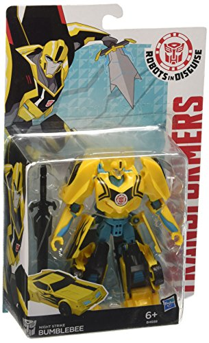 Transformers B0070EU40 - Figurina Transformers Robots in Disguise Warriors, 13 cm, Personaggi Assortiti
