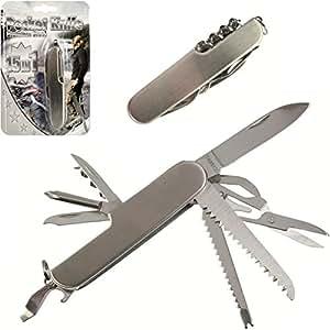 couteau multifonction canif 15 en 1 pocket knife genre couteau suisse cuisine. Black Bedroom Furniture Sets. Home Design Ideas