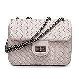 Bagoddess Ladies Accessories Purse Soft Leather Small Shoulder Bag Designer Clutch Wallet(C4)