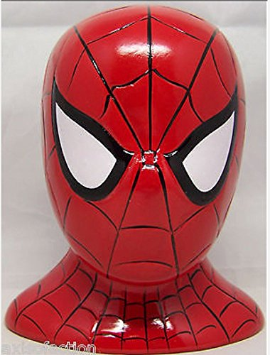 Spiderman Ceramic Coin Bank - 1