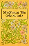 Edna St. Vincent Millay, Collected Lyrics