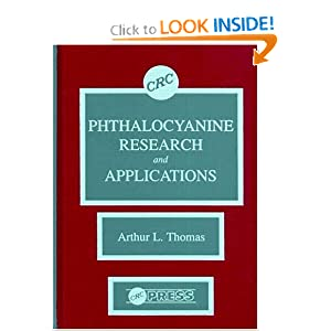Amazon.com: Phthalocyanine Research and Applications ...