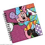 Enesco Disney by Britto Minnie Mouse Spiral Notebook Journal, 0.65-Inch