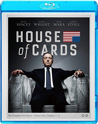 ハウス・オブ・カード 野望の階段 SEASON1 ブルーレイ コンプリートパック [Blu-ray] -