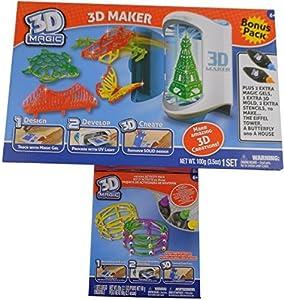 3D Magic Maker Bonus Set and 3D Maker Bracelet Activity Set Bundle