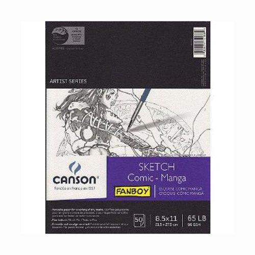 Canson Comic - Manga Sketch Pad 8.5x11 Inch