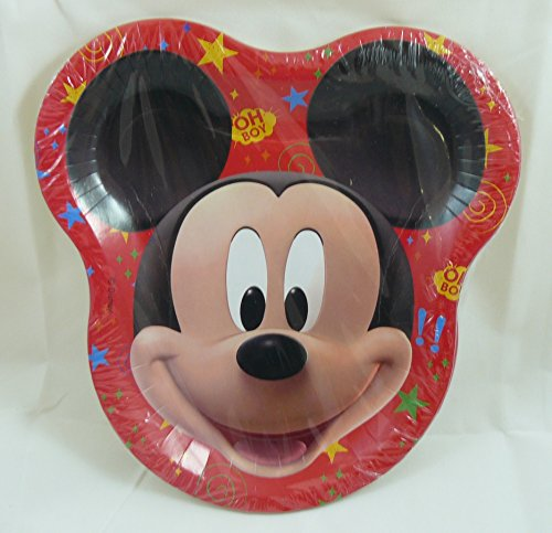 Disney Mickey Mouse Clubhouse Shape Dessert Plates