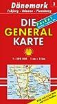 Generalkarte D�nemark 3. Esbjerg, Ode...