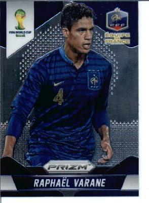 2014 Fifa Panini Prizm World Cup Soccer Card # 78 Raphael Varane France