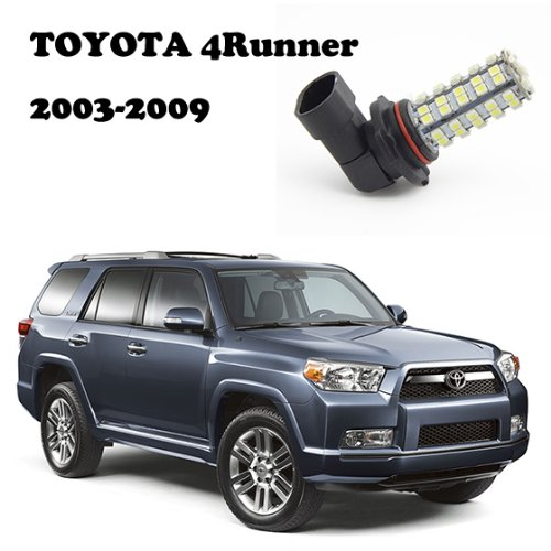 Partsam White Fog Light 9006 9012 Hb4 For Toyota 4Runner 2003 2004 2005 2006 2007 2008 2009