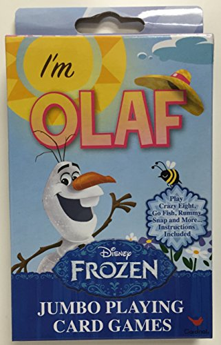 Disney Frozen Jumbo Playing Cards - Olaf Package