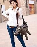 【1点】【値下げ 】ロバ ハンドバッグ バッグ かばん 3色