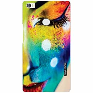 Design Worlds Xiaomi Mi Max Back Cover - Face Designer Case and Covers
