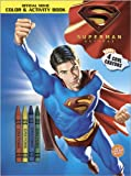 img - for Superman Returns Color & Activity Book: With Crayons book / textbook / text book