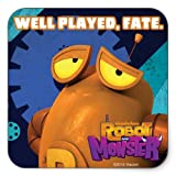 Robot & Monster: Well Played Sticker - Square