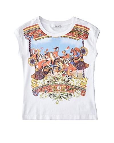 Dolce & Gabbana T-Shirt Manica Corta Corta [Bianco]