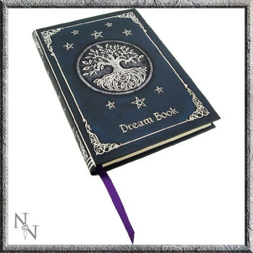 Licensed Blue Tree of Life Dream Book Embossed Journal By Luna Lakota by Nemesis Now